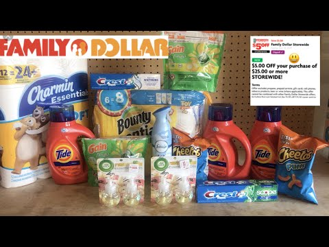All Digital Family Dollar $5/$25 Deals Good Thru 11-30