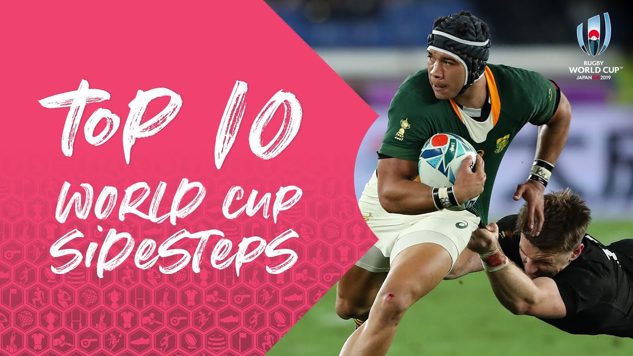 Ten of the Best Sidesteps from Rugby World Cup 2019