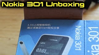 Nokia 301 Mobile Phone Unboxing