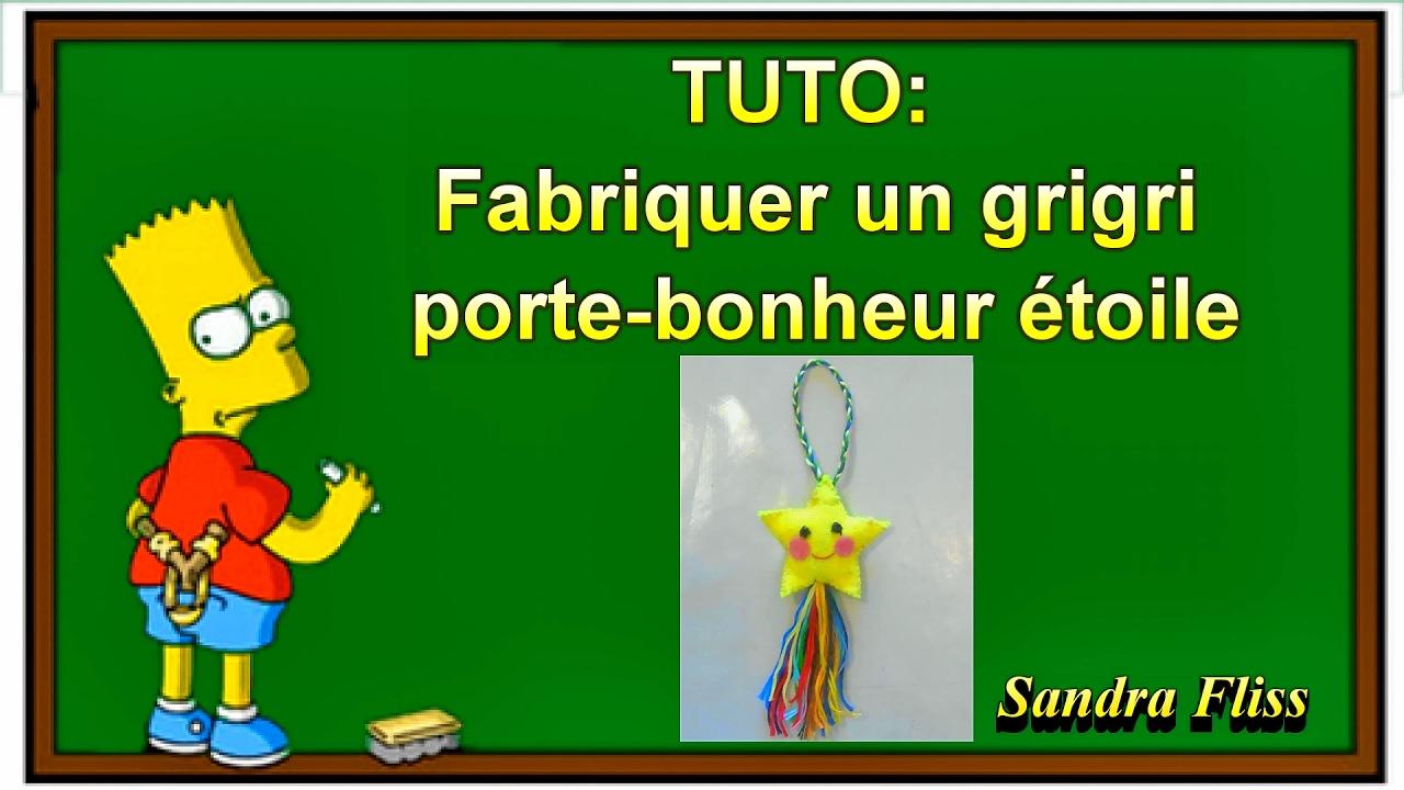 Tuto activit pour enfants fabriquer un gri gri porte - Fabriquer porte bijoux facile ...