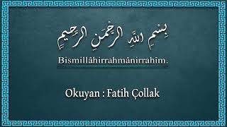 Fatih Çollak - 530.Sayfa - Kamer Suresi (50-55) / Rahmân Suresi (1-16)