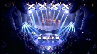 LUMINITES - BRITAIN'S GOT TALENT 2013 SEMI FINAL PERFORMANCE