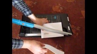 видео Резаки для бумаги