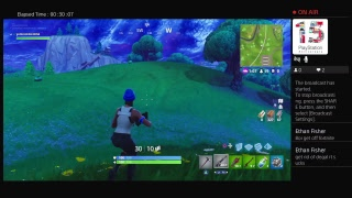 Fortnite gameplay (no mic)