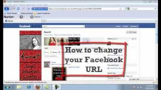 how to change your facebook url name personal fan page