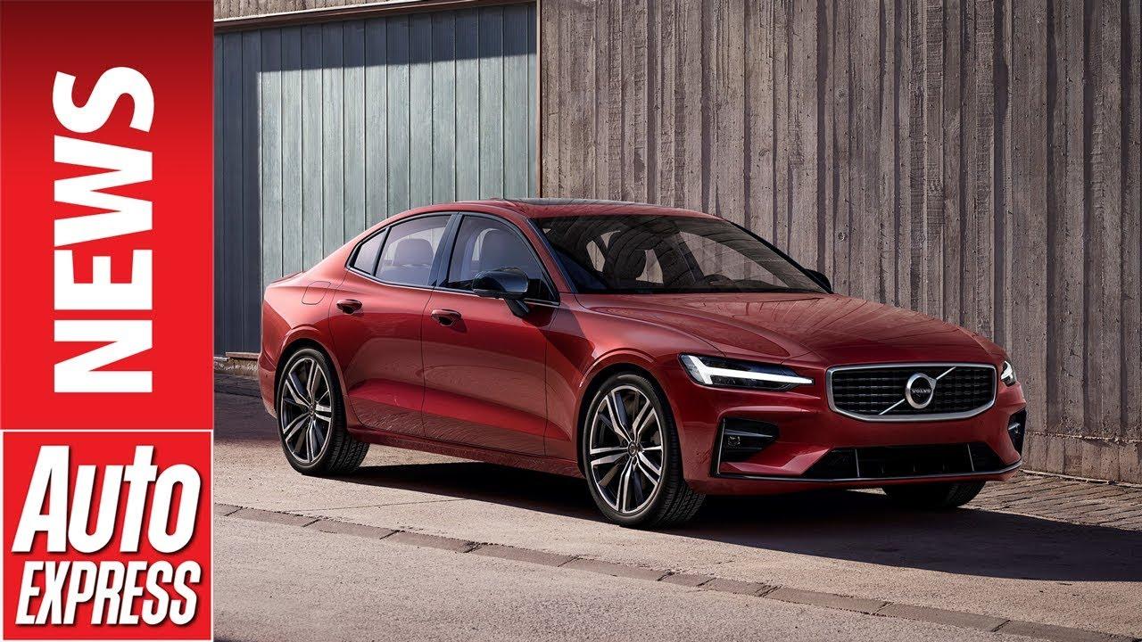 2019 volvo s60 revealed  u2013 meet the new stylish swedish saloon