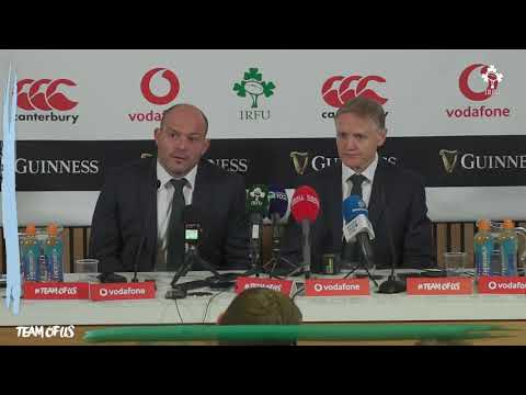 Irish Rugby TV: Ireland v Argentina Post-Match Press Conference