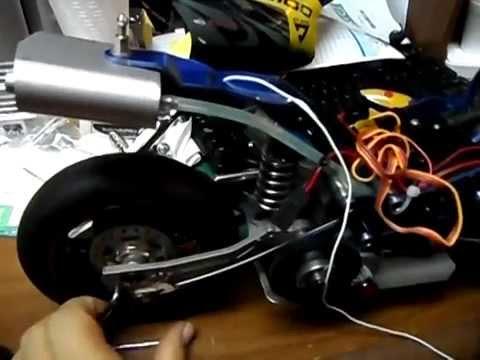 Mostrando Mi Moto Cr 15 Scale Nitro Rc Motor Bike Showing My Bike