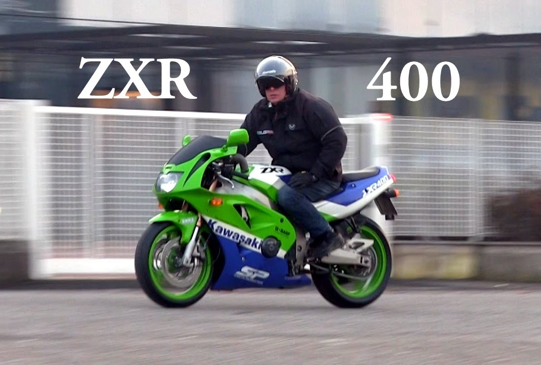 Kawasaki ZXR 400 RESTYLING Year 1990