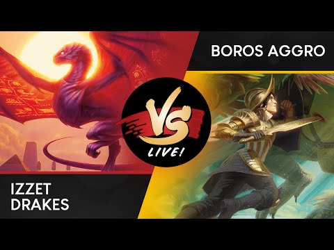 VS Live! | Izzet Drakes VS Boros Aggro | Standard | Match 3
