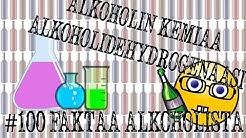 Alkoholin kemiaa -  Alkoholidehydrogenaasi | #100faktaaalkoholista - 37