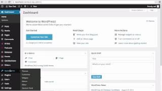 SLAM! Music Wordpress Theme - Installation and Setup
