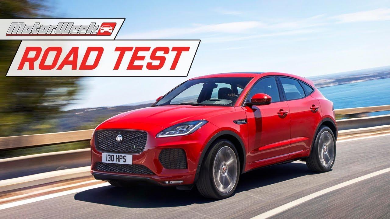2018 Jaguar E Pace Road Test Youtube