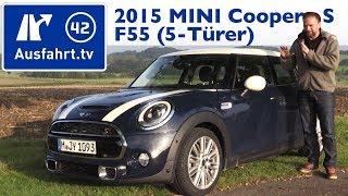 2015 MINI Cooper S (F55) - Fahrbericht der Probefahrt, Test, Review (German)