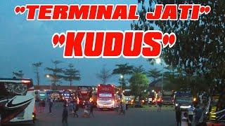 Melihat Suasana Terminal Jati Kudus Jawa Tengah | Bus Mania Pati Photograph