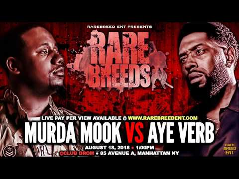 MURDA MOOK VS AYE VERB (AUG 18TH) LIVE PAY PER VIEW - RBE
