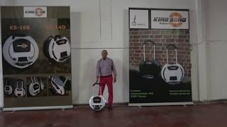 Learn to ride a Kingsong e Wheel