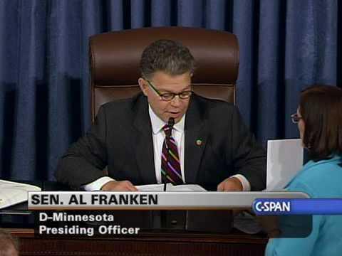Senate Confirmation Vote on Judge Sotomayor