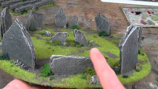 TerranScapes - Minor changes to a few pieces -  Warhammer Warmachine Hordes LOTR