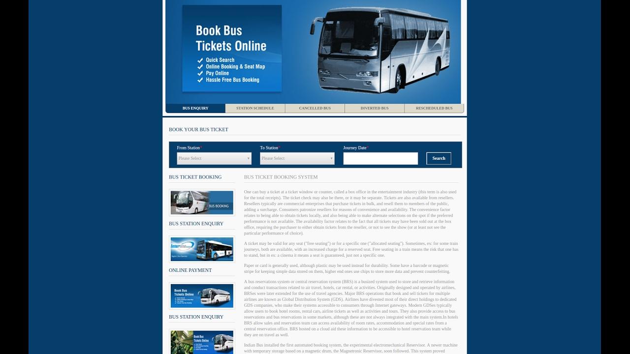 Bus Ticket Booking System Java Jsp Mysql Projects Free Source Code Documentation Freeprojectz
