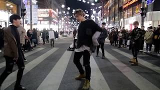 JHKTV]신촌공연 디오비shin chon k-pop dance dob mic drop