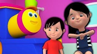 боб поезд | давайте веселиться песней | детские стишки | рифмы для детей | Bob Train | Lets have fun thumbnail