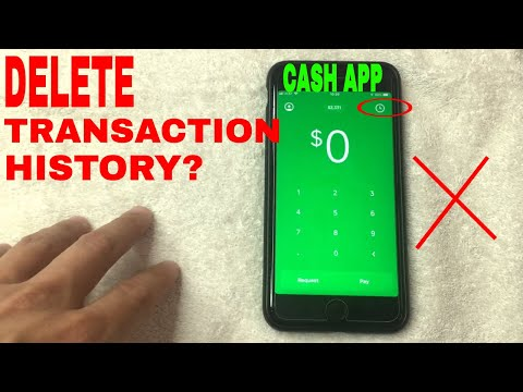 ✅ Can You Delete Cash App Transaction History? 🔴 - YouTube