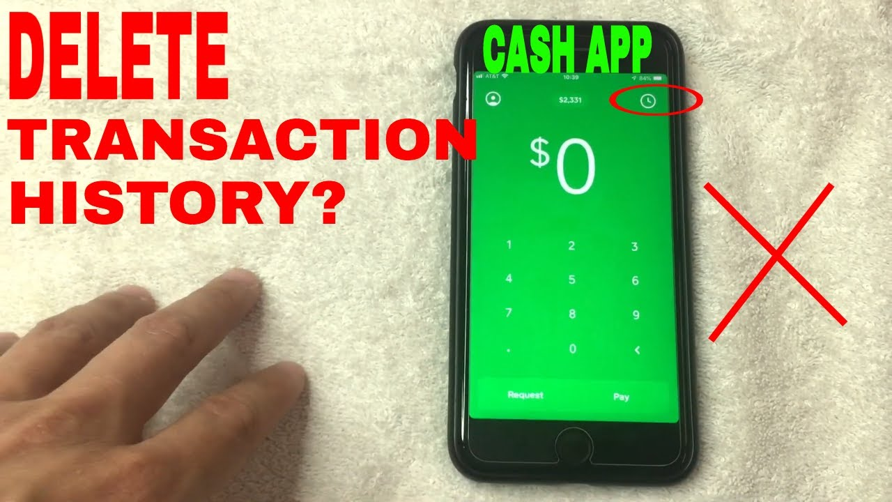✅ Can You Delete Cash App Transaction History? 🔴