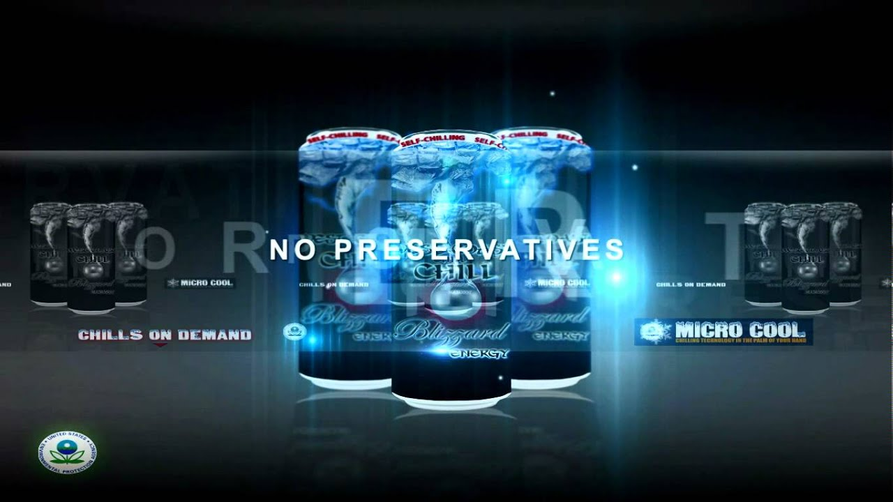 West Coast Chill- World's First Self Chilling Energy Drink ...