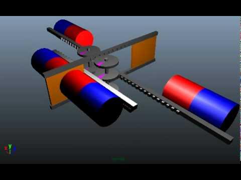Dual Piston Magnetic Engine Concept
