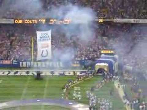 2007 NFL OPENER - INDIANAPOLIS