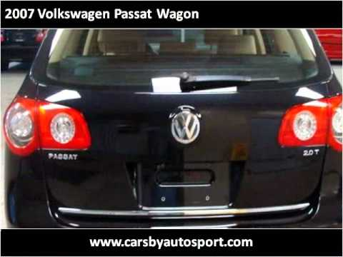 2007 Volkswagen Passat Wagon Used Cars Grand Rapids MI