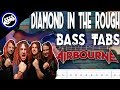 Airbourne - Diamond in the Rough   Bass Cover With Tabs in the Video