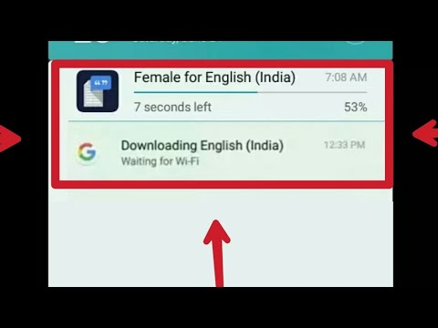 How To Cancel Google Downloading English Waiting For WiFi for all Mobile 100% Successfull
