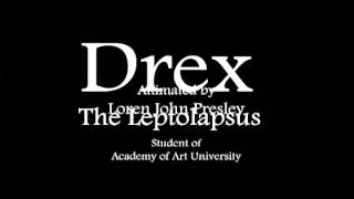 Drex - The Leptolapsus - Animation Pencil Test