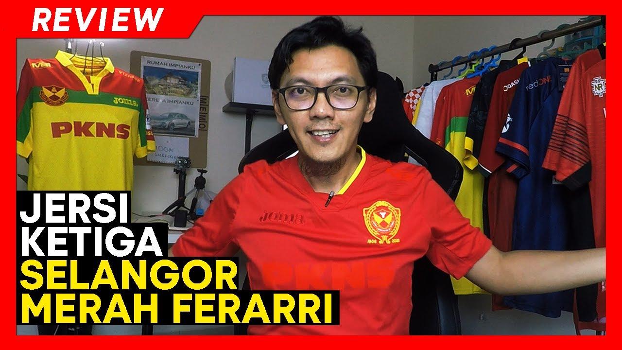 """Download REVIEW JERSI ketiga Selangor FC Merah Ferarri   Gaya Retro """"Red Out"""""""