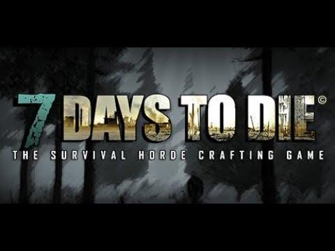 7 Days To Die. Кооп с Артёмом #24. Дни 40-43. Корзинки для байков.
