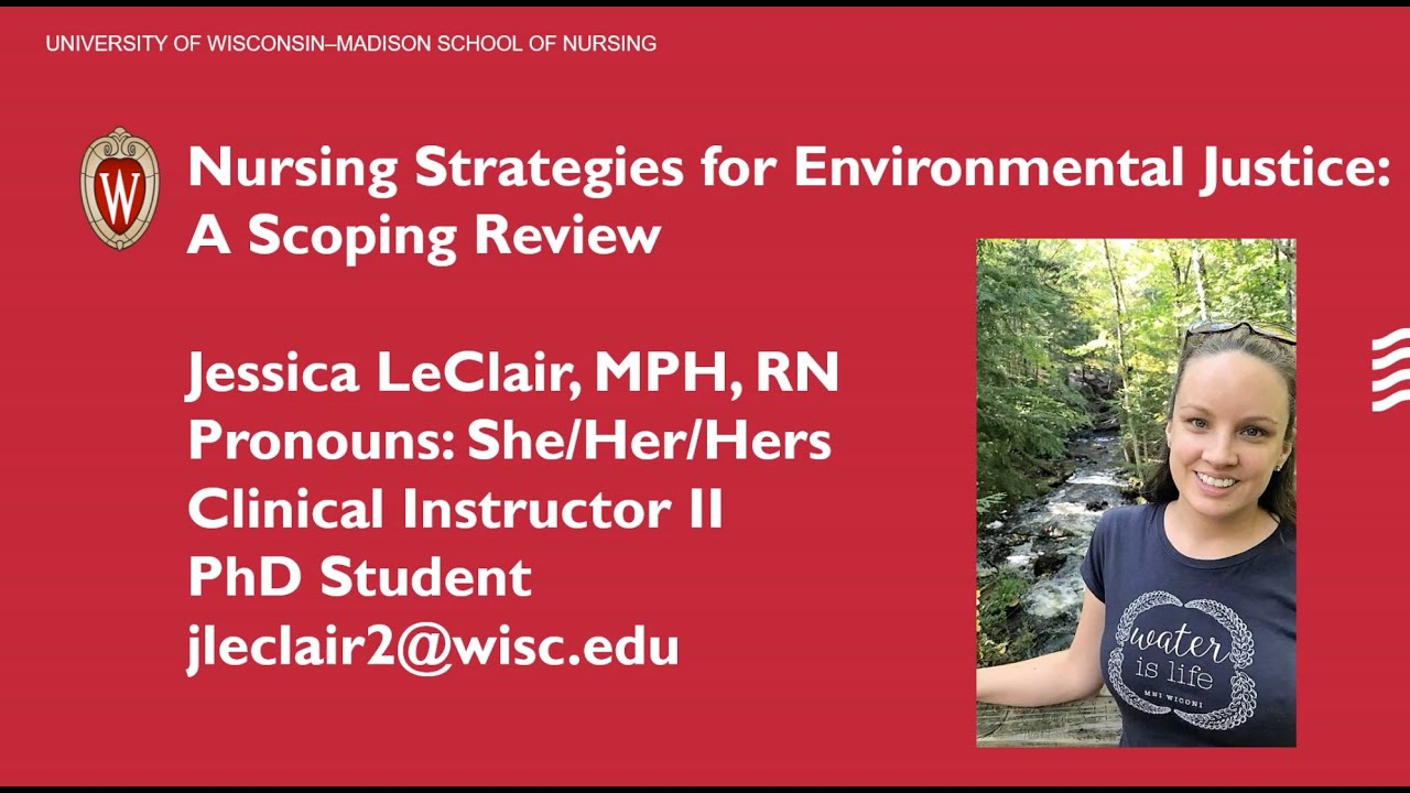 UW-Madison Planetary Health Scholars Spring 2020 Cohort Flash Talk: Jessica LeClair
