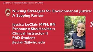 UW-Madison Planetary Health Scholars Spring 2020 Cohort Flash Talk: Jessica LeClair