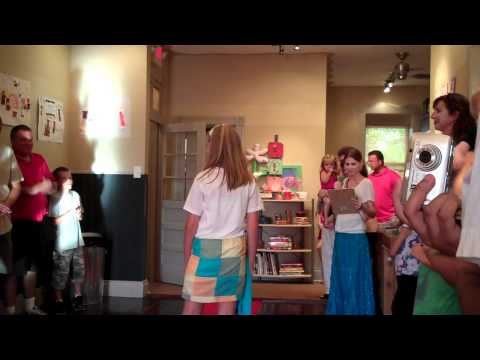 South Broadway Art Project Fashion Show - 2010 part 1