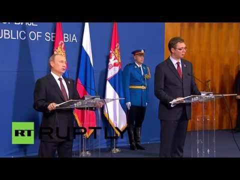 Serbia: 'If Ukraine siphons gas, Russia will reduce European supplies' - Putin