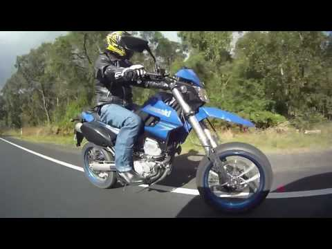 Kawasaki KLX250SF 2010 - YouTube