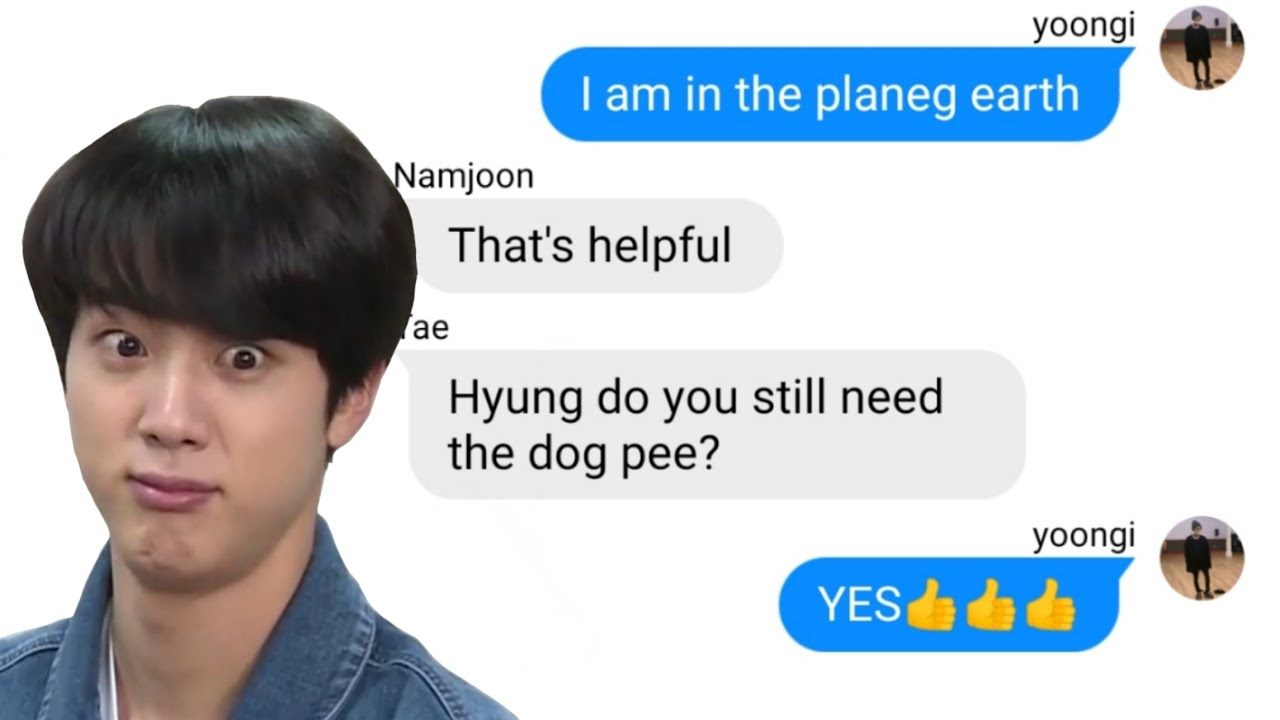 BTS TEXTS- tHe OnE wHo GoT DrUNk 13+