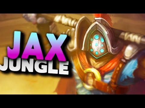 Jax Jungle Season 10 Gameplay - League of Legends