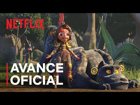 Maya y los tres   Avance oficial   Netflix