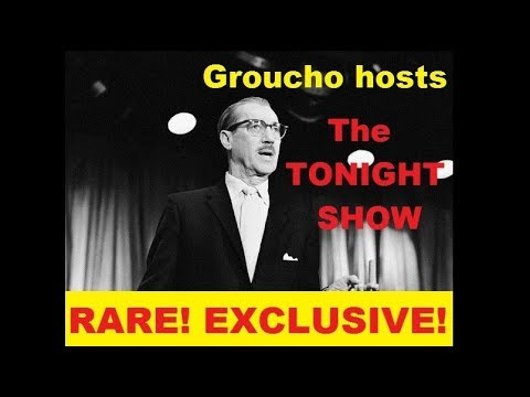 RARE AUDIO: Groucho hosts The TONIGHT SHOW. . . with guest Lillian Roth! (1962) [EXCLUSIVE!]