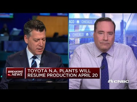 Toyota's North American Plants Will Resume Production April 20