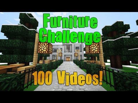Modern Mansion Furnishing Challenge!! 100th Video!!