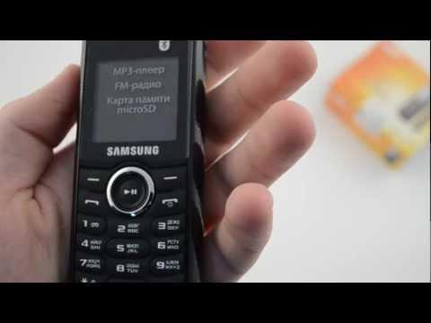 Samsung GT-E2121B - видео обзор ( Gt E2121b ) от Video-shoper.ru