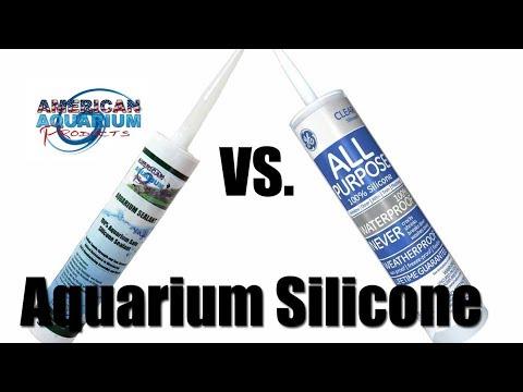 Silicone Sealant | GE 100% Silicone | What Aquarium Glass Silicone To Use?